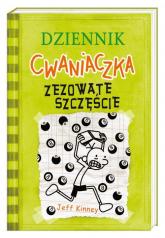 Dziennik cwaniaczka Zezowate szczęście - Jeff Kinney | mała okładka
