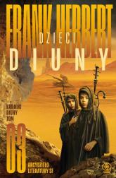 Kroniki Diuny Tom 3 Dzieci Diuny - Frank Herbert | mała okładka