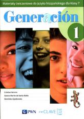 Generacion 1 Materiały ćwiczeniowe do języka hiszpańskiego dla klasy 7 Szkoła podstawowa - Herrero Cristina, de Santa Olalla Aurora Martin, Ujazdowska Dominika | mała okładka
