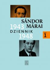 Dziennik 1943-1948 Tom 1 - Sandor Marai | mała okładka