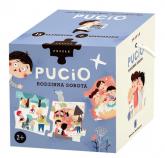 Puzzle 15 Pucio Rodzinna sobota - Marta Galewska-Kustra | mała okładka