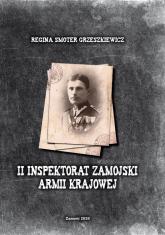 II Inspektorat Zamojski Armii Krajowej - Smoter Grzeszkiewicz Regina   mała okładka