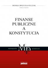 Finanse publiczne a Konstytucja -  | mała okładka