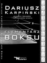 Elementarz Boksu - Dariusz Karpiński | mała okładka