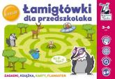 Łamigłówki dla przedszkolaka - Minge Natalia, Minge Krzysztof, Sobkowiak Monika, Biela Agnieszka | mała okładka