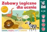 Zabawy logiczne dla ucznia - Minge Natalia, Minge Krzysztof, Sobkowiak Monika, Biela Agnieszka | mała okładka