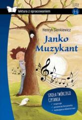 Janko Muzykant Lektura z opracowaniem - Henryk Sienkiewicz | mała okładka
