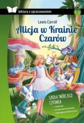 Alicja w Krainie Czarów Lektura z opracowaniem - Lewis Carroll | mała okładka