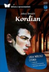Kordian Lektura z opracowaniem - Juliusz Słowacki | mała okładka