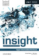 Insight Upper-Intermediate Workbook with Online Practice Szkoły ponadpodstawowe - Roberts Rachael, Sayer Mike, Sobierska Joanna | mała okładka