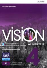 Vision 4 Workbook Liceum technikum - Sharman Elizabeth, Duckworth Michael   mała okładka