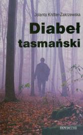 Diabeł tasmański - Jolanta Knitter-Zakrzewska   mała okładka