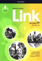 Link 4 Materiały ćwiczeniowe + Online Practice Szkoła podstawowa - Phillips Sarah, Anyakwo Diana | mała okładka