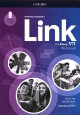 Link 7 Materiały ćwiczeniowe z dostępem do Online Practice Szkoła podstawowa - Pye Diana, Finnis Jessica | mała okładka