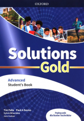 Solutions Gold Advanced Student's Book Liceum technikum - Falla Tim, Davies Paul A, Wheeldon Sylvia | mała okładka