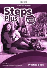 Steps Plus 7 Materiały ćwiczeniowe + Online Practice Szkoła podstawowa - Helena Gomm | mała okładka