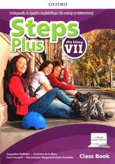 Steps Plus 7 Podręcznik z cyfrowym odzwierciedleniem Szkoła podstawowa - Walkden Jacqueline, de la Mare Christina, Leonard Carla | mała okładka