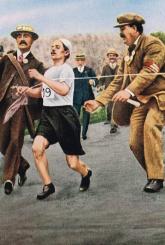 Igrzyska Lekkoatletów Tom 4 Ateny 1906 Londyn 1908 - Grinberg Daniel, Parczewski Adam | mała okładka