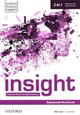 Insight Advanced Workbook with Online Practice Szkoły ponadpodstawowe - Sayer Mike, Maris Amanda | mała okładka