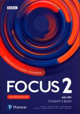 Focus Second Edition 2 Student Book + Digital Resource + Ebook Liceum technikum Poziom A2+/B1 -  | mała okładka