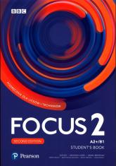 Focus Second Edition 2 Student's Book + kod (Digital+MyEnglishLab+eBook) Liceum technikum Poziom A2+/B1 -  | mała okładka