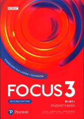 Focus Second Edition 3 Student Book + kod Digital + MyEnglishLab + ebook Liceum technikum. Poziom B1/B1+ -  | mała okładka