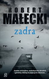 Zadra Wielkie Litery - Robert Małecki | mała okładka