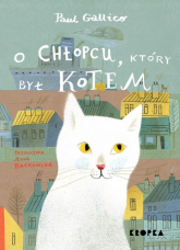 O chłopcu który był kotem - Paul Gallico | mała okładka