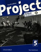 Project Level 5 Workbook with Audio CD and Online Practice Poziom: False Beginner to Intermediate (A1-mid B1) - Tom Hutchinson | mała okładka