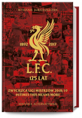 LFC 125 lat. Alternatywna historia Mistrz Anglii 2019/20 - Cottrell David, Hughes William, McLoughlin Chris, Hynes John | mała okładka