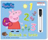 Peppa Pig. Napisz to… 1,2,3... Biwak w lesie. - zbiorowe opracowanie | mała okładka