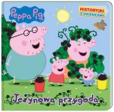 Peppa Pig Historyjki z okienkami Jeżynowa przygoda - zbiorowe opracowanie | mała okładka