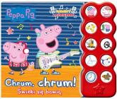 Peppa Pig Książka z dźwiękami Świnki się bawią - zbiorowe opracowanie | mała okładka