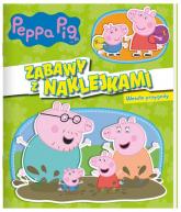 Peppa Pig. Zabawy z naklejkami. Wesołe przygody. - zbiorowe opracowanie | mała okładka