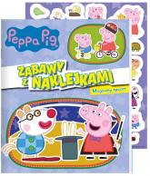 Peppa Pig. Zabawy z naklejkami. Magiczny spacer - zbiorowe opracowanie | mała okładka