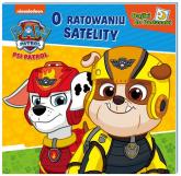 Psi Patrol Bajki do poduszki O ratowaniu satelity - zbiorowe opracowanie | mała okładka