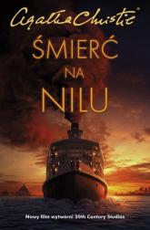 Śmierć na Nilu - Agatha Christie   mała okładka