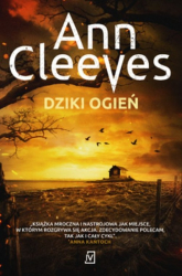 Dziki ogień - Ann Cleeves | mała okładka