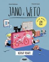 Jano i Wito uczą mówić R Różowy rower - Wiola Wołoszyn | mała okładka