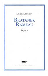Bratanek Rameau Satyra II - Denis Diderot | mała okładka