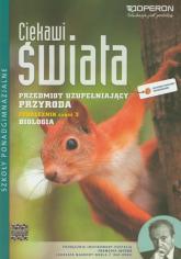 Ciekawi świata Przyroda Biologia Podręcznik Część 3 Szkoły ponadgimnazjalne - Duda Agata, Holeczek Jolanta | mała okładka