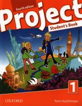 Project 1 Student's Book False Beginner to Intermediate (A1-mid B1) - Tom Hutchinson   mała okładka