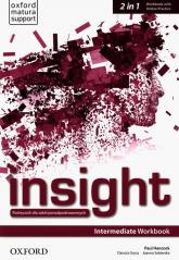 Insight Intermediate Workbook with Online Practice - Hancock Paul, Gryca Danuta, Sobierska Joanna | mała okładka