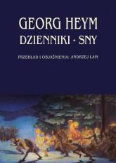 Dzienniki Sny - Georg Heym | mała okładka