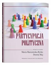 Partycypacja polityczna -  | mała okładka
