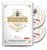 Encykliki świętego Jana Pawła II książka do słuchania z płytami CDmp3 -  | mała okładka