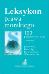 Leksykon prawa morskiego 100 podstawowych pojęć -  | mała okładka