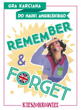 Remember & Forget. Gra karciana do nauki angielskiego. Kieszonkowiec - Dorota Kondrat   mała okładka