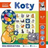 Koty Smart bingo Gra edukacyjna - Izabela Gołaszewska | mała okładka