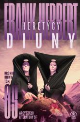 Kroniki Diuny Tom 5 Heretycy Diuny - Frank Herbert | mała okładka